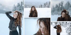 Callan in Bozeman winter wonderland