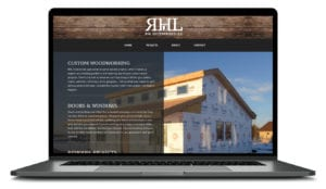 RHL Enterprises website build and logo