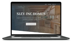 Bozeman and Big Sky builder website design